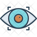 Recognize Observe Eye Icon