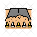 Closed Road Reconstruction Icon