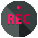 Record Button Rec Icon