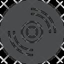 Cd Dvd Audio Icon