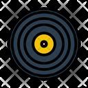 Record Analogue Emblem Icon