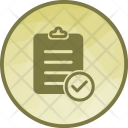 Record Clearance Balance Icon