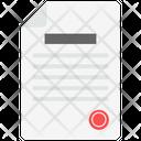 Record File Icon