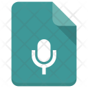 Mic File Document Icon