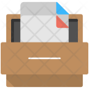 Record Keeping Filing Icon