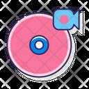 Record Label Disc Recorder Icon