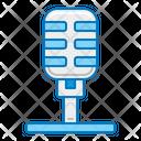 Record Label Mic Recording Icon