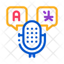 Microphone Voice Device Icon