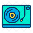 Player Record Music Icon