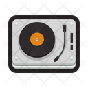 Record Player Turntable Disc Jock Icon