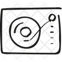 Player Record Turntable Icon