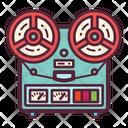 Recorder Music Tape Icon
