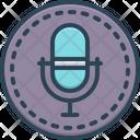 Recording Audio Sound Icon