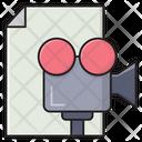 Recording File Digital Icon