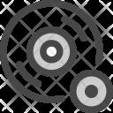 Recording Microphone Cd Icon