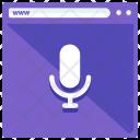 Recording Voice Record Icon