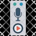 Recording Player Audio Icon