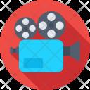 Movie Camera Recording Icon