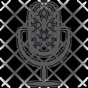 Recording Mic Microphone Media Icon