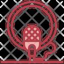 Recording Microphone Icon