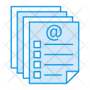 Document Records Files Icon