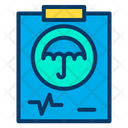 Life Insurance Mediclaim Insurance Icon