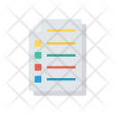 Records Document Files Icon