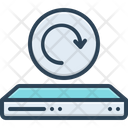 Recover Refresh Disk Icon