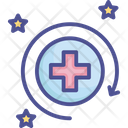 Health Recovery Refresh Icon