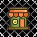 Recreational Cannabis Store Icon