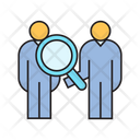 Recruiting Human Resource Find Icon