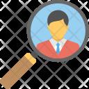 Recruitment Search Job Icon
