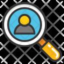 Recruitment Talent Search Icon