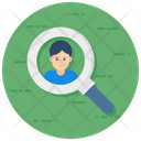 Hiring Talent Search Find People Icon