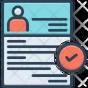 Recruitment Enlistment Enrolment Icon