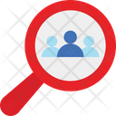 Candidate Find Employee Find User Icon