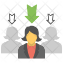 Recruitment Team Selection Icon