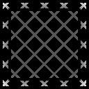 Rectangle Tool Illustrator Icon