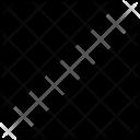Rectangle Half Pattern Icon