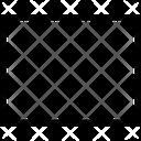 Rectangle Rectangle Shape Icon