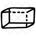 Rectangle Prism Shape Icon