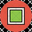 Rectangle Shape View Icon