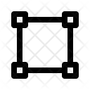Rectangle Path Icon