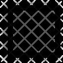 Rectangle Tool Shape Design Icon
