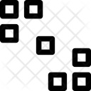 Rectangles Arrows Squares Icon