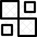 Rectangles Squares Pattern Icon