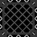 Rectangular Shape Interface Icon