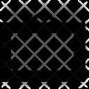Rectangular Designer Frame Icon