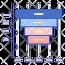 Rectangular Funnel Icon