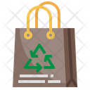Recyclable Bag Recyclable Paper Paper Bag Icon